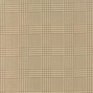 Wool and Needle III Flannel 1132 21F Tan Houndstooth, Primitive Gatherings by Moda